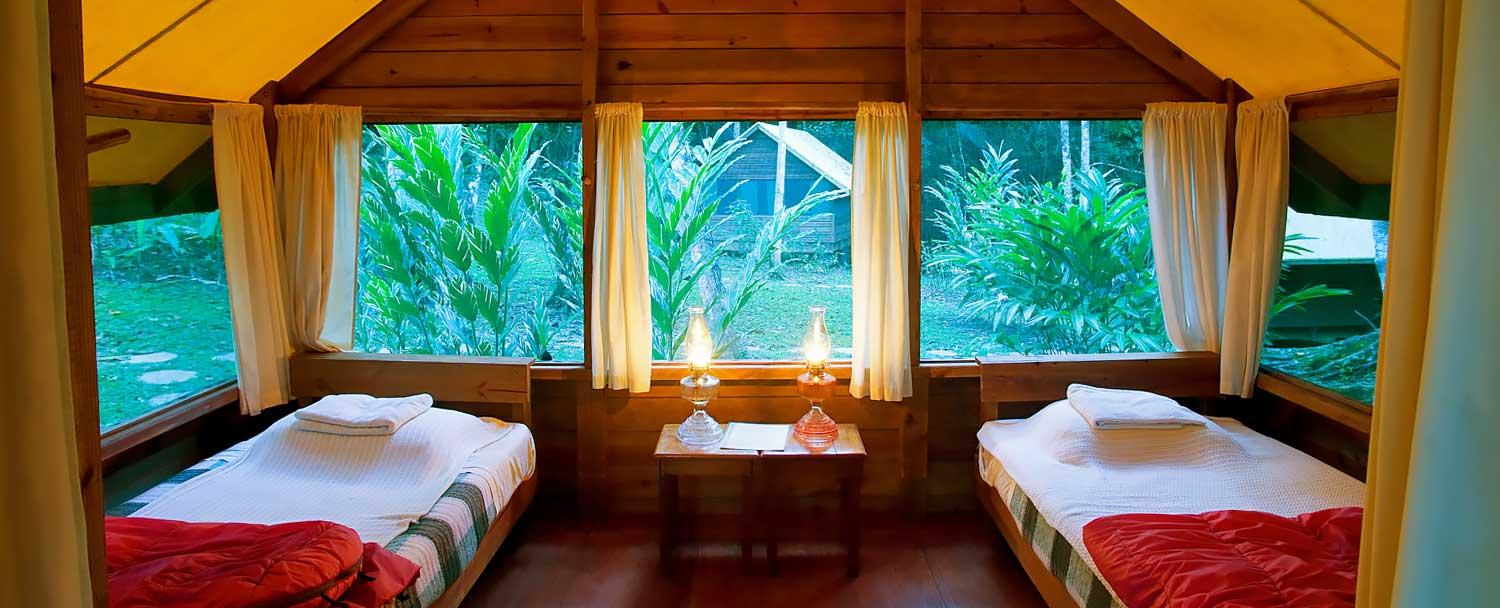 Travel to Belize on a budget at Chaa Creek Camp Casitas