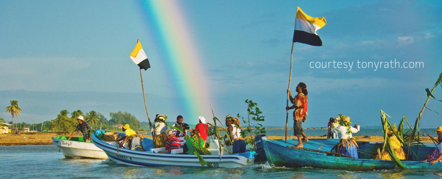 Garifuna Settlement Day is celebrated in Southern Belize on November 19th of every year!