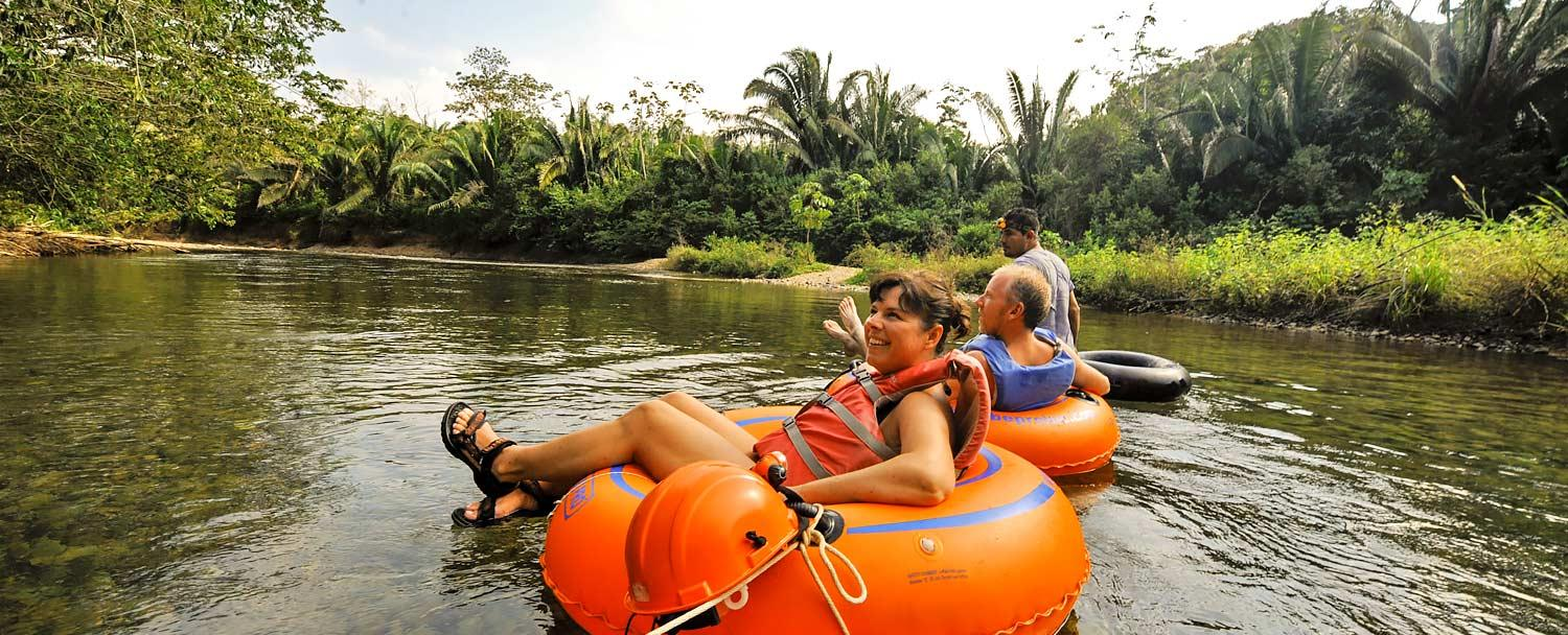 River Tubing in Belize by Chaa Creek on the Macal River