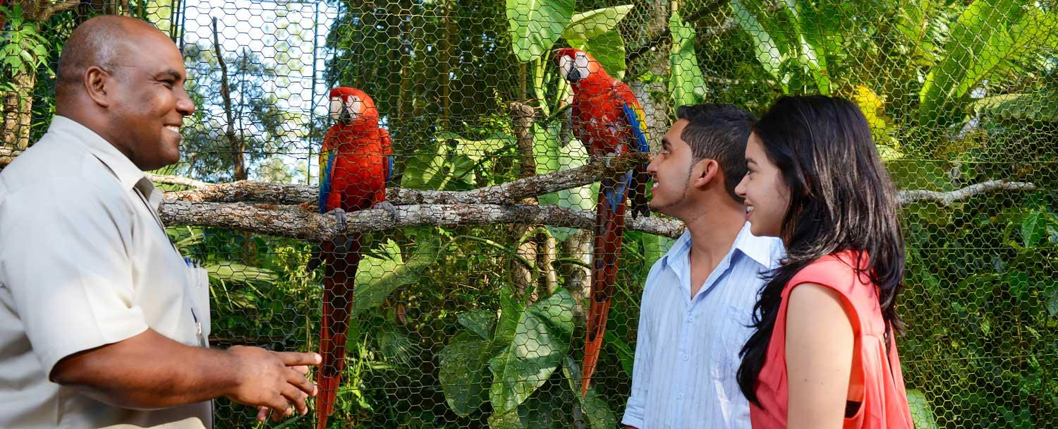 Belize Zoo Tour with our Belize Inland Expedition Vacation Package