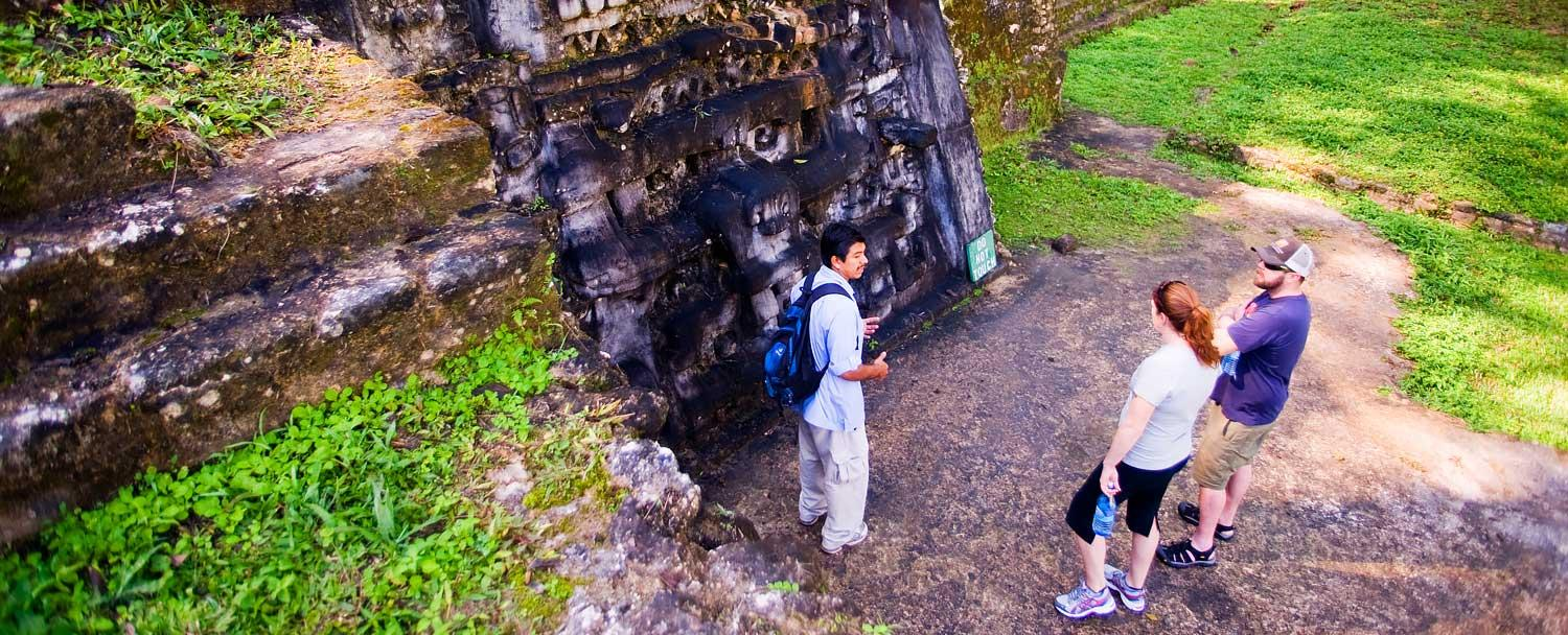 Mayan Ruin Tours on Chaa Creek Inland Expedition Belize Vacation Package