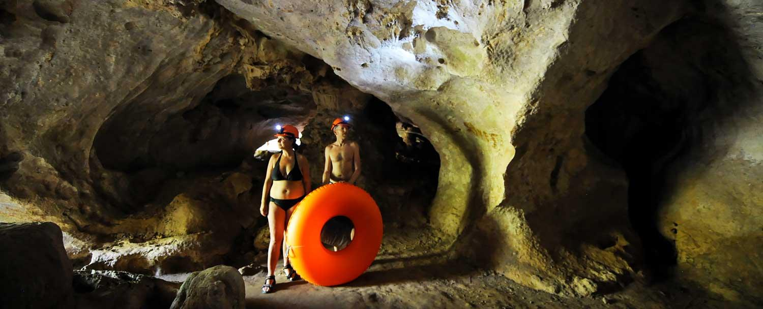 Belize Cave Tours on Chaa Creek Inland Expedition Vacation Package