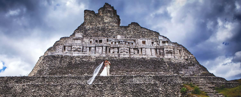 Belize Wedding Packages Maya Temple Xunantunich