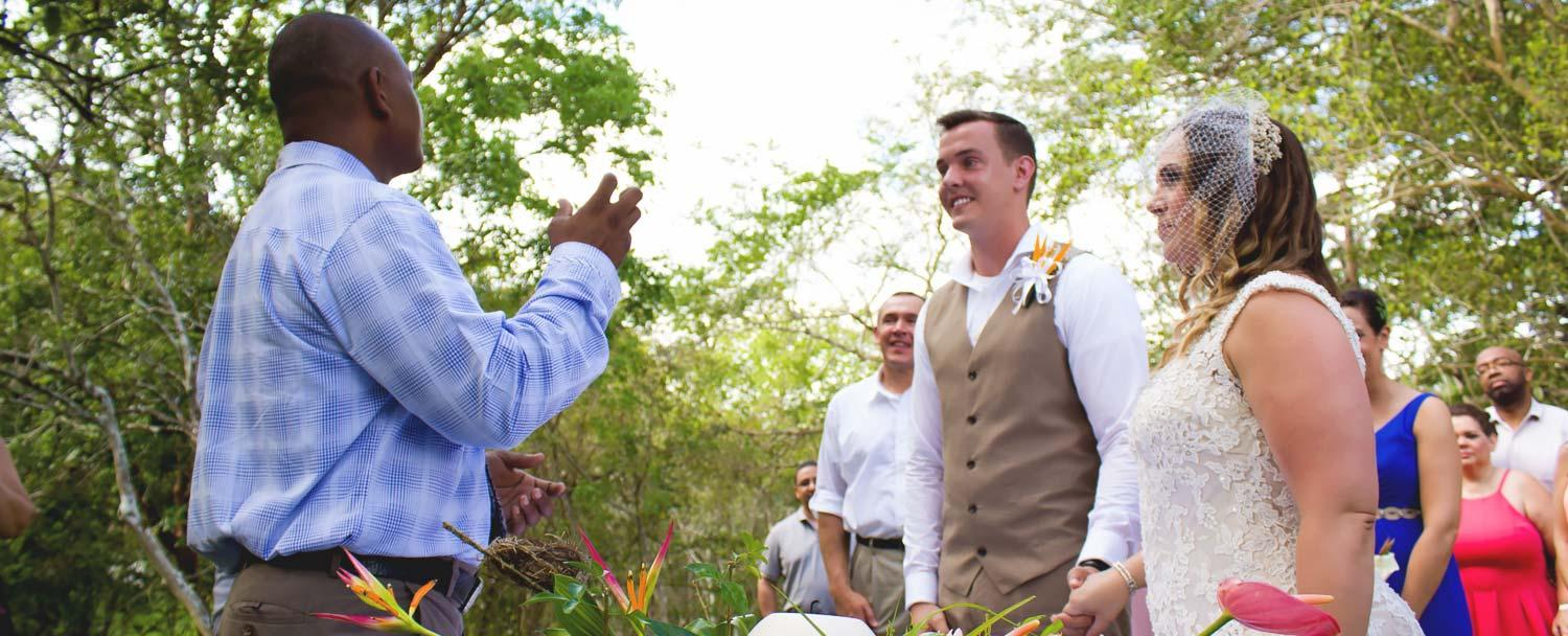Belize Weddings Day packages at Chaa Creek gardens