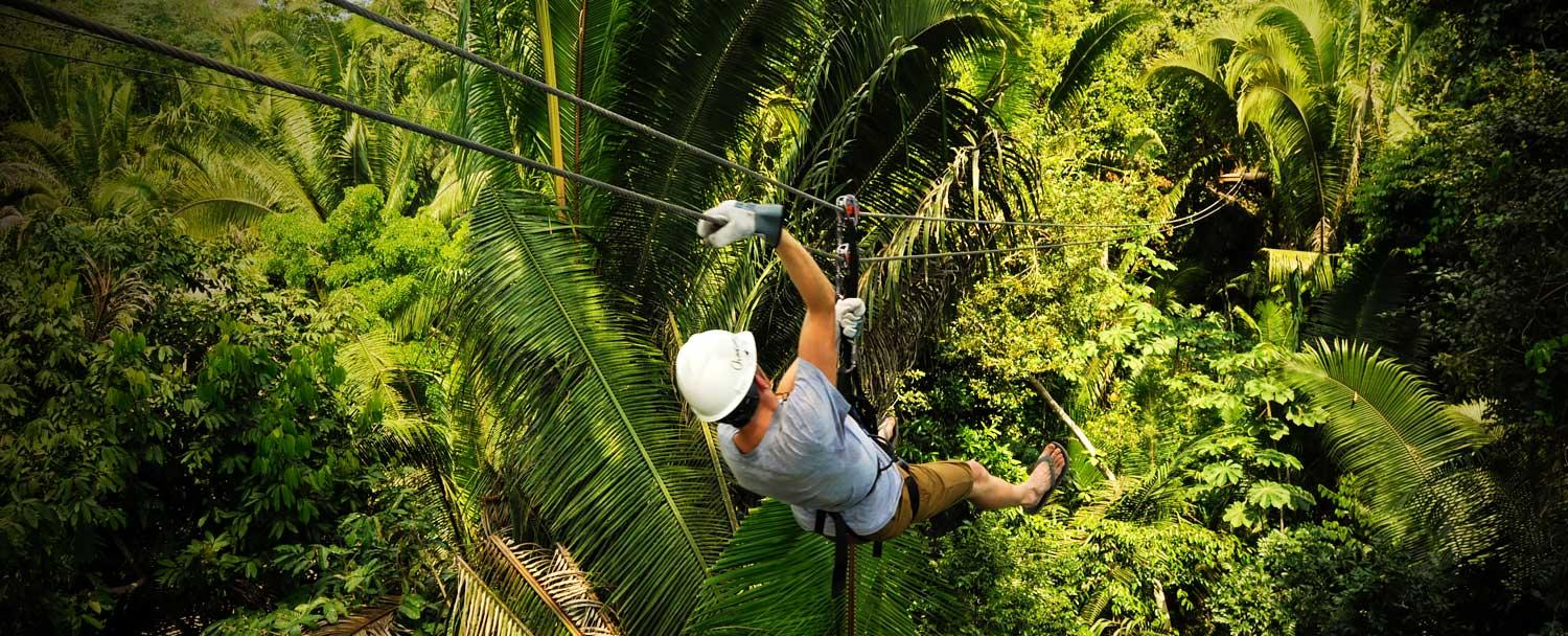 Enjoy zip lining in belize with Chaa Creek at Calico Jacks