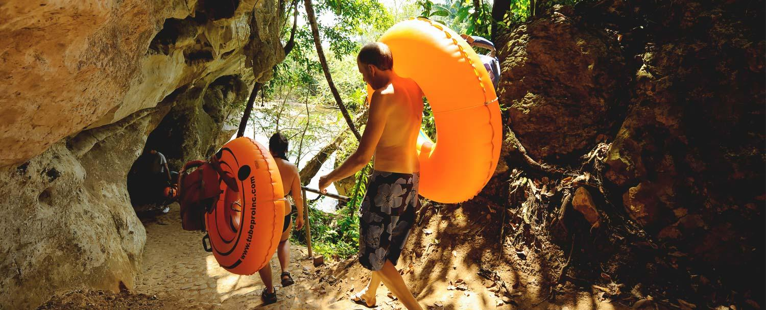 belize cave tubing at caves branch