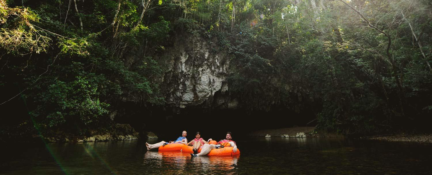 cave tubing at caves branch by chaa creek