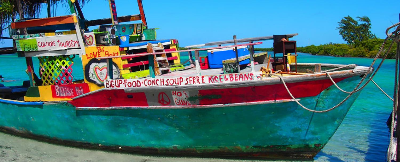 Caye Caulker Belize Sail Boat
