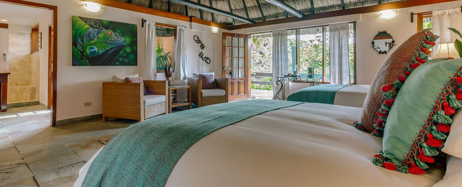 Belize luxury cottage accommodations at Chaa Creek Resort