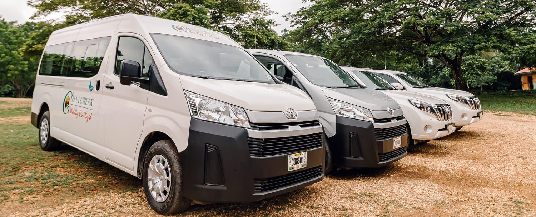 Chaa Creek Belize Transfers - Toyota, Vans, Suvs