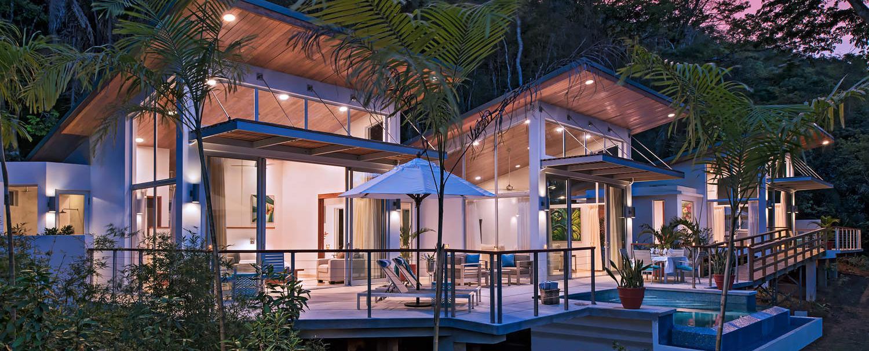 Ixchel Belize Villas with private infinity plunge pool at chaa creek resort