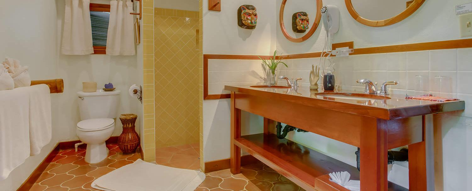Chaa Creek Belize luxury resort cottage collection bathroom