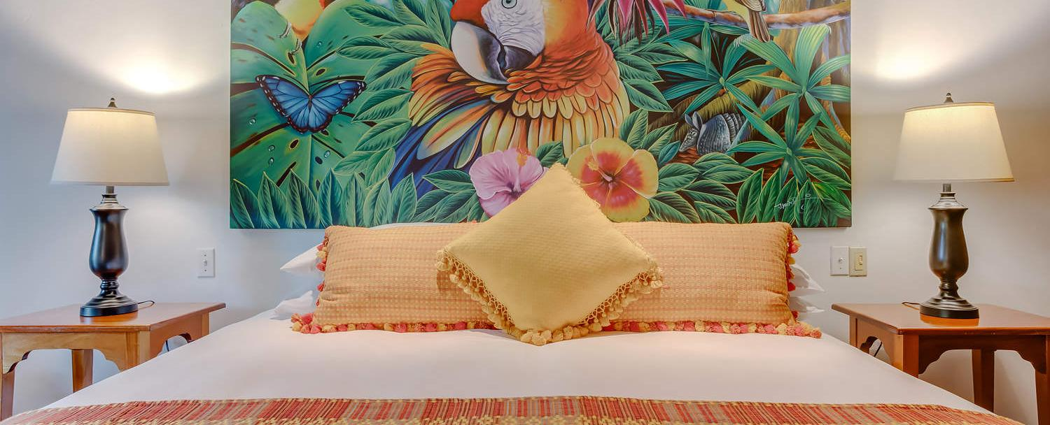Our Belize luxury cottage collection features stunning interior deco