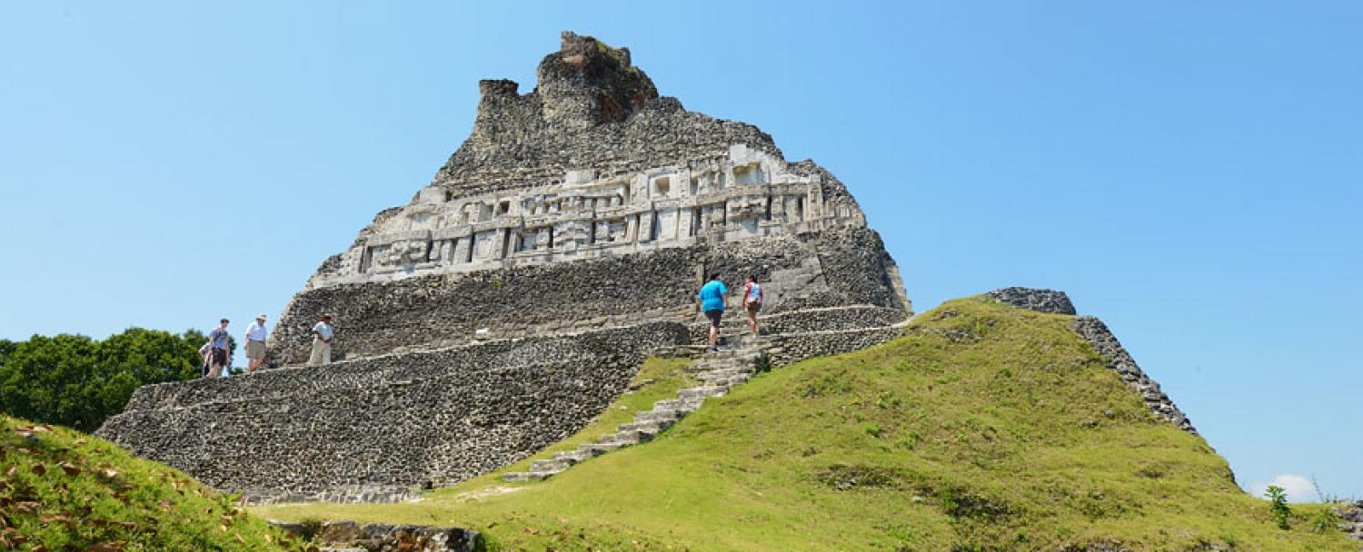 Chaa Creek Belize Xunantunich Maya Temple