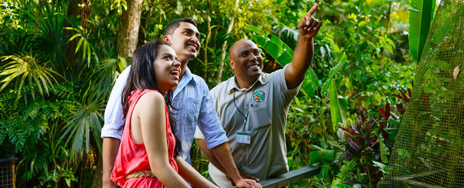 The Belize Zoo with Chaa Creek Guests