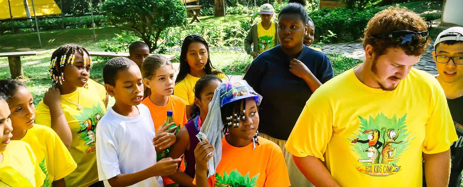 Belize Eco Kids Summer Camp Fun Group