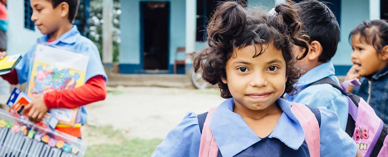 Sarita student at progreso government school in Belize