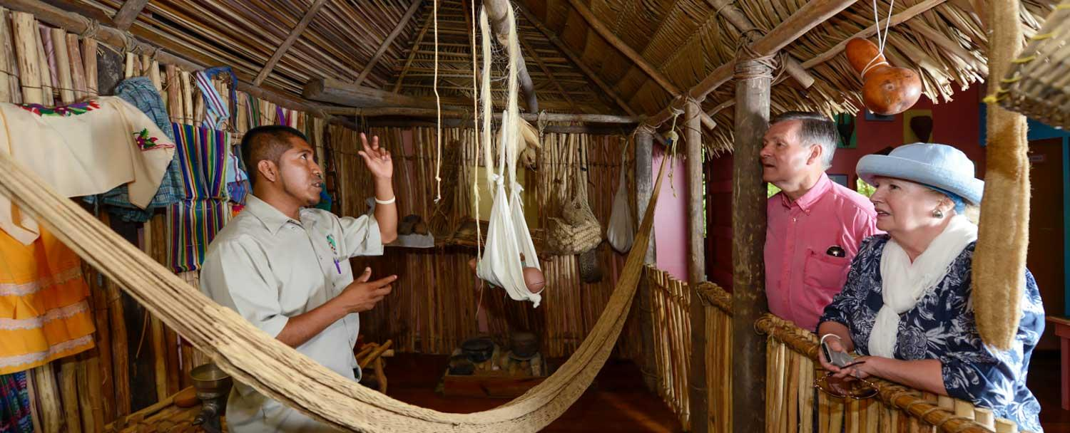 learn about Belize culture and history at Chaa Creek's Natural History Center