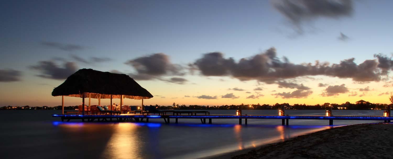 Placencia Belize Peninsula Docking Marina at Chabil Mar