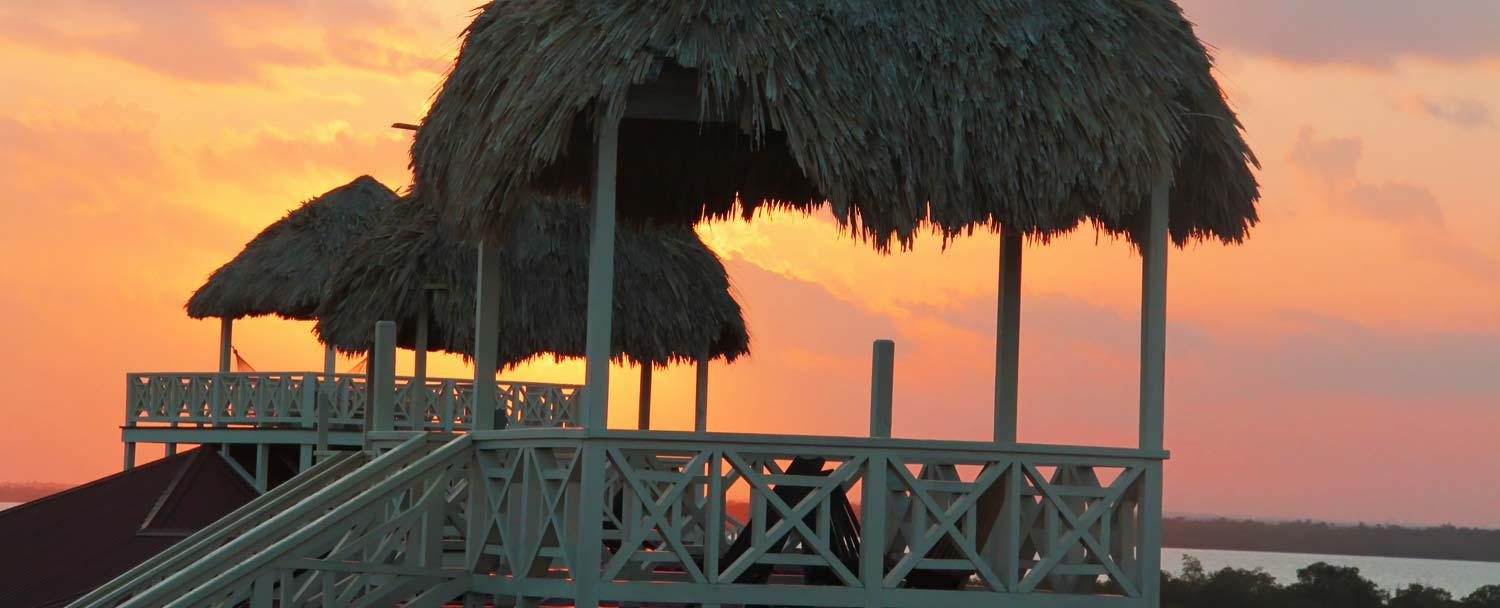 Experience a Placencia Belize Sunset with Chaa Creek Resort