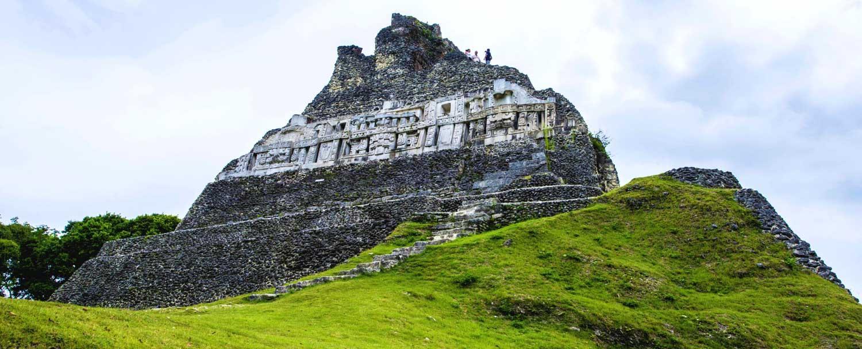 Xunantunich Mayan Ruins El Castillo Temple