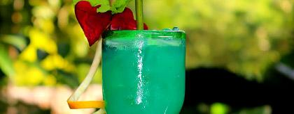 Belize Drink Recipes Blue Morpho