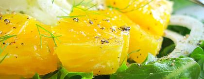 Belize Recipes Orange Salad