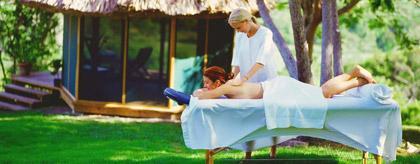 Belize spa resort massage thumb
