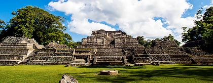 Caracol Maya Temples